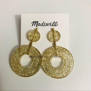 Madewell Circle Statement Earrings NWT